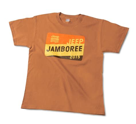 jeep jamboree logo jeep jamboree usa 2015 jeep jamboree logo t shirt small