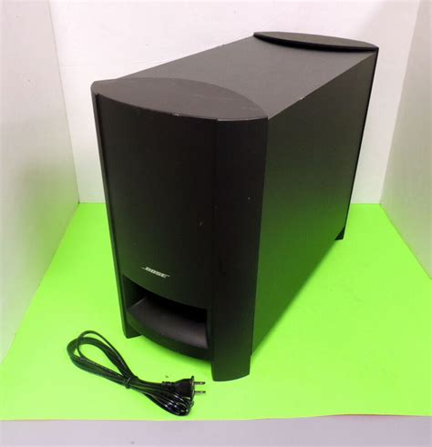 bose cinemate  home theater speaker system subwoofer