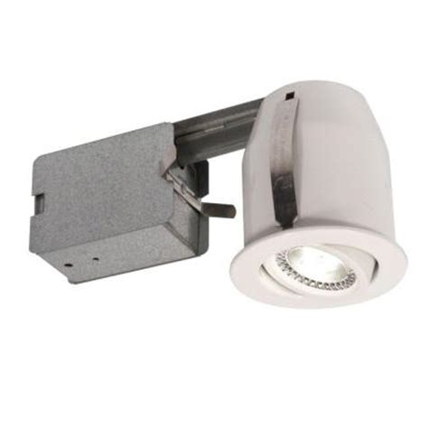 Home Depot Led Recessed Lights by Bazz 3 In White Led Recessed Lighting Fixture 303l5w The Home Depot