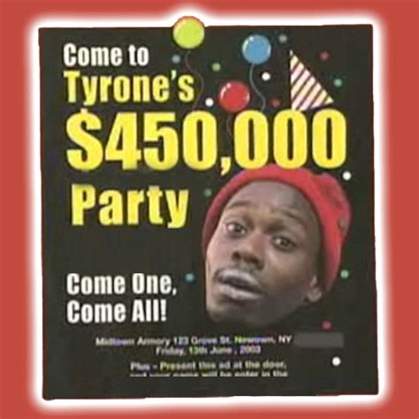 tyrone biggums crack party quotes - Tyrone Biggums Free Crack Giveaway