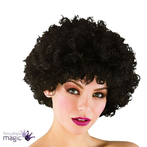 afro perm stories adults funky 70s 80s disco pop perm afro wig curly scouser