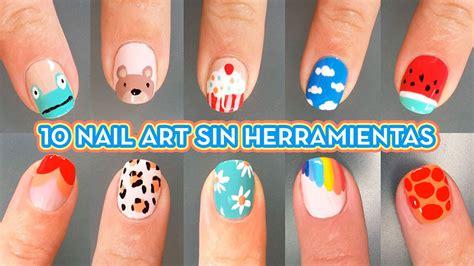 imagenes de unas decoradas facil de hacer 10 dise 241 os de nail art facil u 209 as decoradas nail art