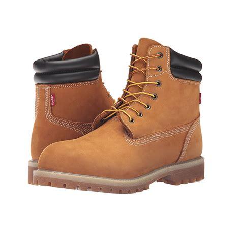 mens construction work boots levi s s harrison construction boots suede wheat