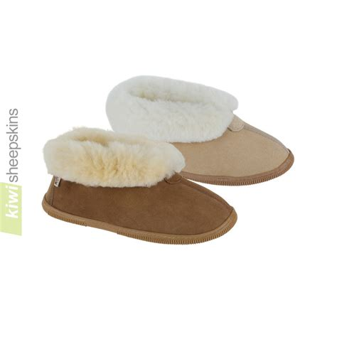 bootie slippers sole sheepskin bootie sheepskin slippers kiwi