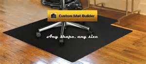 Desk Floor Mats For Carpet Custom Chair Mats