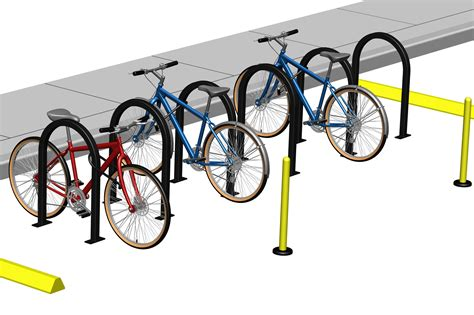 Bike Rack For Parking Lot by Bike Corral Cyclesafe
