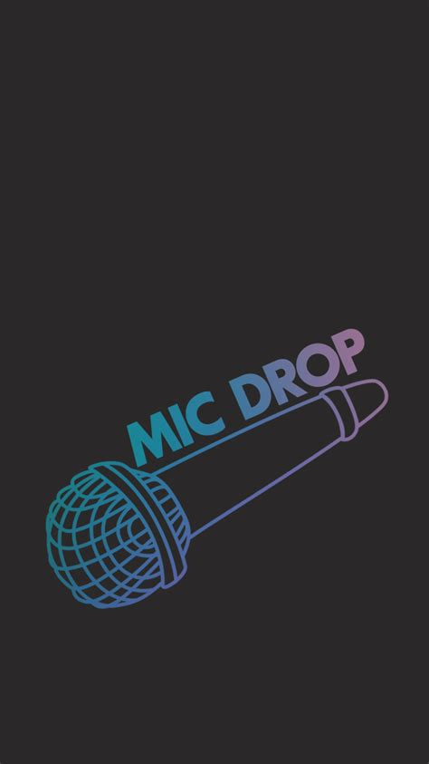 wallpaper bts mic drop bts bangtan mic drop bungee kpop wallpaper lockscreen her