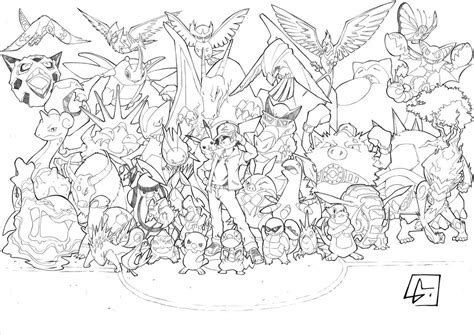 coloring pages of all pokemon pokemon logo coloring pages images pokemon images