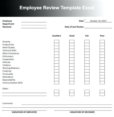 90 Day Evaluation Form Printable Self Evaluation Exles Free 90 Day Employee Review Template Employee Review Form Template Free