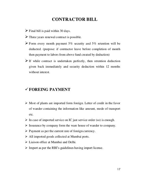 Working Capital Management Mitesh Maharaj Dom Sub Contract Template Free