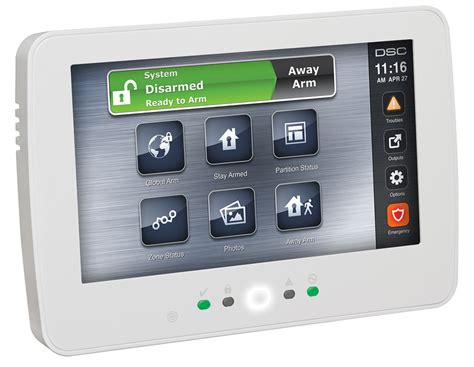 Alarm Dsc dsc neo touchscreen keypad with prox zions security