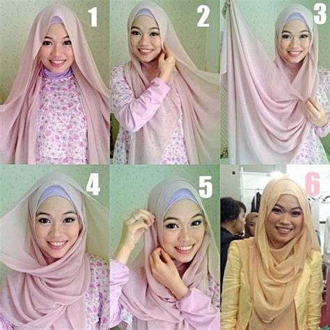 hijab tutorial pashmina for party 18 best images about hijab drawing on pinterest