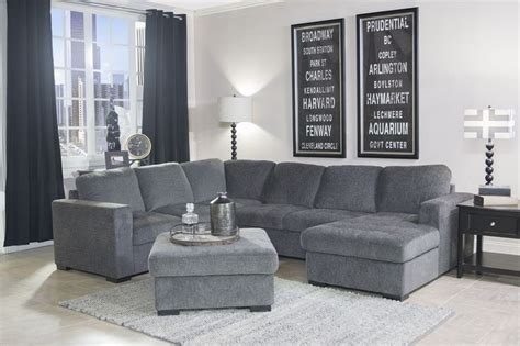 mor furniture sectionals mor furniture for less the claire 3 piece right facing