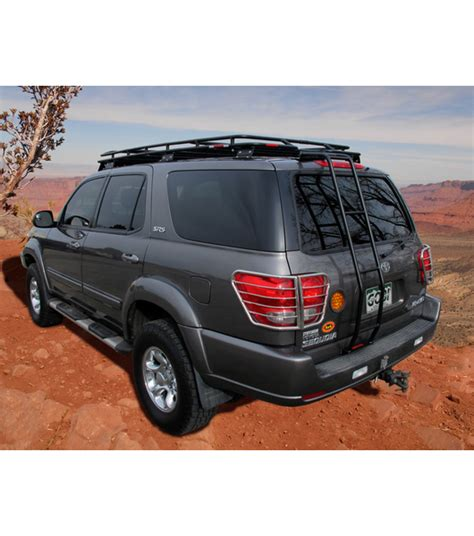 Sequoia Roof Rack by Toyota Sequoia 01 07 183 Stealth Rack 183 4 Independent Led