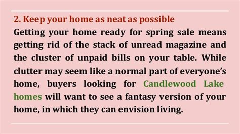 how to get your home ready for spring 5 tips to get your candlewood lakefront home ready for