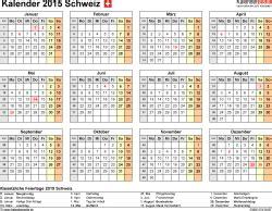 Word Vorlage Kalender 2015 Kalender 2015 Schweiz F 252 R Word Zum Ausdrucken