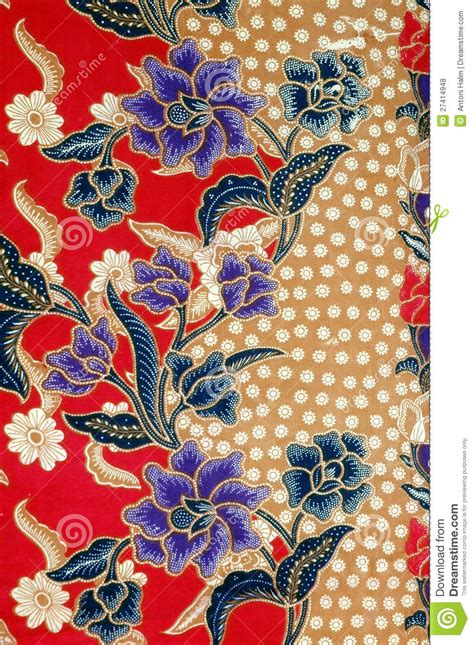 fabric design of indonesia indonesian fabric design royalty free stock photos image