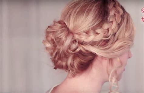 peinados recogidos para damas de honor con pelo largo peinados dama de honor que te podr 225 s hacer tu misma los