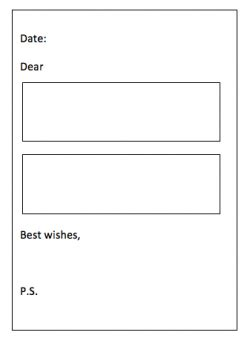 Writing Frames Explained For Primary School Parents Theschoolrun Letter Template Ks2 2