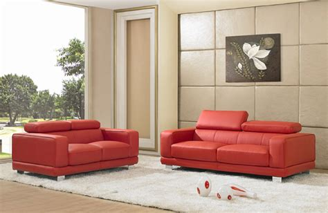 asia metro genuine top grain leather sofa set