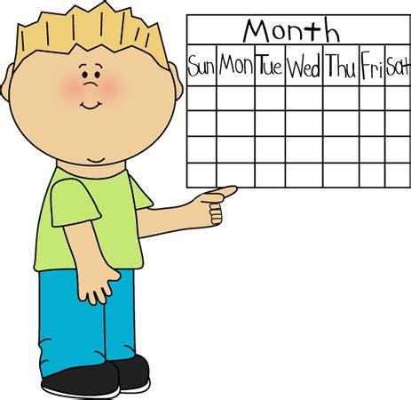 Clipart Calendar School Kid Calendar Classroom Clip Classroom