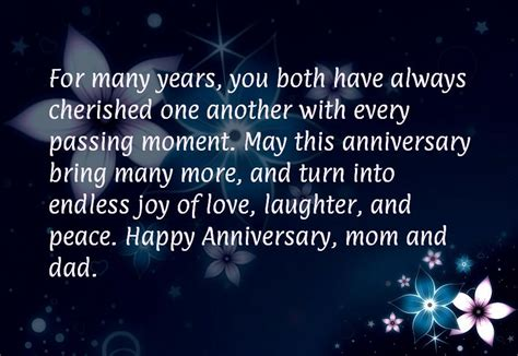 20th Wedding Anniversary Quotes To by 20th Wedding Anniversary Quotes For Parents Www Pixshark