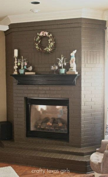 Awesome 1000 Ideas About Painted Brick Fireplaces On Refinishing A Fireplace