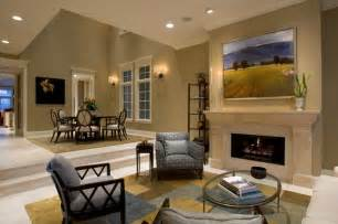 Large Living Room Houzz Living Room Dining Room