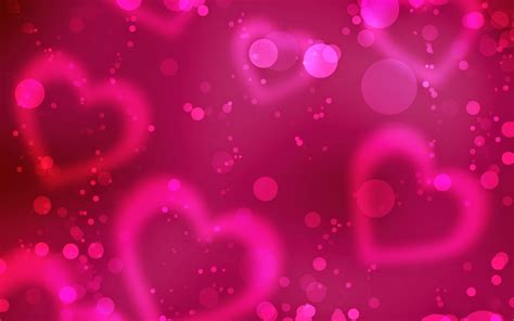 love pink themes romantic love heart designs hd cover wallpaper pixhome