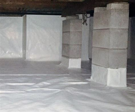 pioneer basement crawl space vapor barrier services in ma and ri