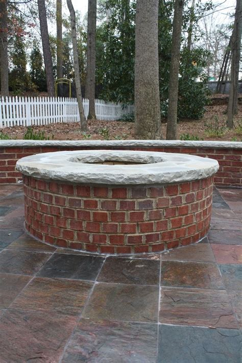 Firepit Bricks 15 Best Ideas About Brick Pits On Pits Square Pit And Brick Supply