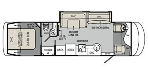 monaco rv floor plans 2011 monaco vesta series m 32pbs specs and standard