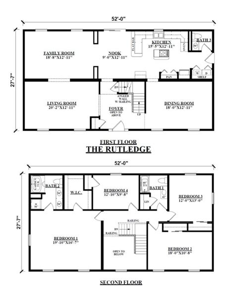 2 story floor plans image result for floor plan two story rectangular house in 2019 floor plans house