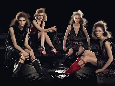 117 Desinger Boots For Winter 2009 2010 by Prada Fall Winter 2009 2010 Ad Caign Stylefrizz
