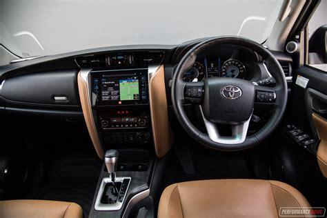 interior new fortuner 2018 2018 toyota fortuner crusade review performancedrive