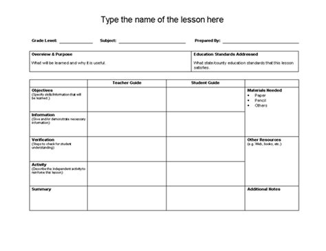 best 25 unit plan template ideas on pinterest