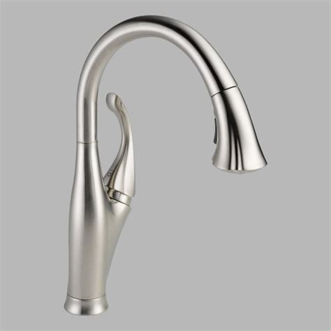 delta addison kitchen faucet reviews delta 9192 ss dst addison single handle pull down kitchen