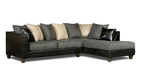 Sofa Kecil black microfiber sectional sofa with chaise foto gambar wallpaper 69