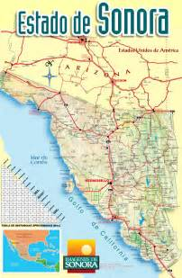 map of sonora sonora mexico map