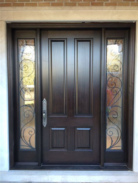 front door with window best 25 entry door with sidelights ideas on