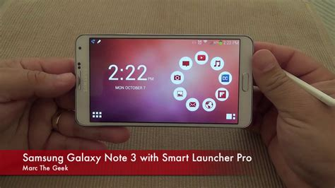 and install galaxy note 7 launcher on samsung phones samsung galaxy note 3 with smart launcher pro