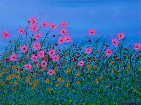 dipinti di fiori quadri fiori regalare fiori realizzare quadri di fiori