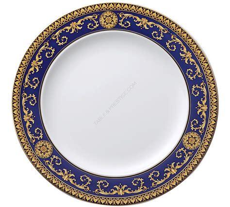 Versace Logo Plate Shopper by 6 X Ikarus Medusa Blue Plate 27 Cm Versace Medusa Blue