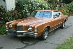 Pontiac Grand Prix All American Classic Cars 1972 Pontiac Grand Prix 2 Door