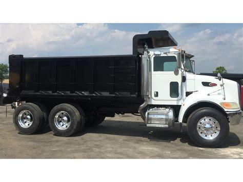 peterbilt dump truck peterbilt 340 dump trucks for sale used trucks on