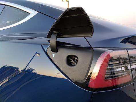 tesla model 3 onboard charger exclusive insideevs tesla model 3 test drive review