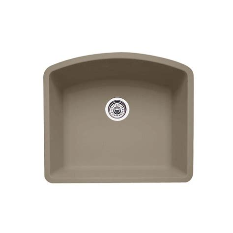 blanco undermount kitchen sink single bowl blanco undermount granite 24 in 0 hole single