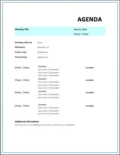 meeting minutes templates microsoft word templates