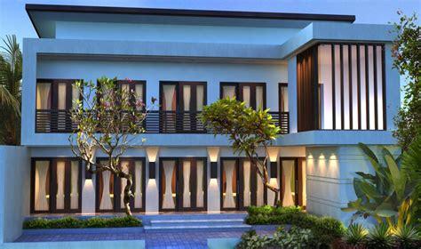 gambar desain rumah desain kos kosan minimalis