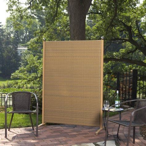 Outdoor Room Dividers Versare Outdoor Wicker Resin Room Divider Privacy Screens Wicker And Room Dividers